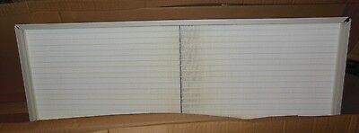 AEROSTAR/FILTERATION GROUP CLEANROOM HEPA FILTER #42839B / CP-03 / 18 x 54 x4.92