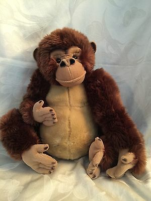 FAO Real Life Looking Orangutan Ape Monkey Plush In New Condition 16""