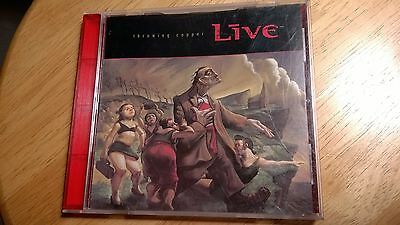 Live - Throwing Copper Cd used in very good condition