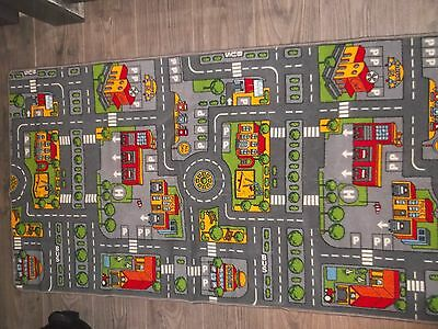 Large Toy Car Play Mat 120 cm X 80cm good condition