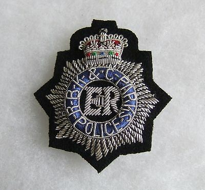 OBSOLETE ROYAL BOROUGH of KENSINGTON & CHELSEA PARKS POLICE OFFICERS CAP BADGE