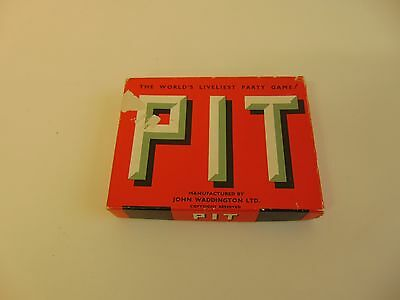 Vintage Pit Card Game by Waddingtons - The World's Liveliest Party Game