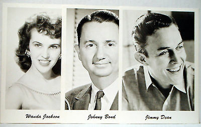 """Picture Pak * 21 5""""x7"""" Photos of Famous Country Western Stars * Acuff Owens Cash"""