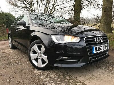 2013 Audi A3 Sport 1.6 Tdi 5 Door Black One Owner With Full History Superb Car