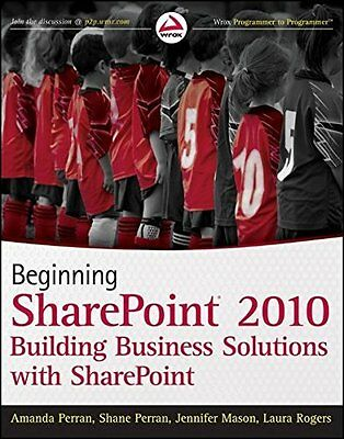 Beginning SharePoint 2010 by Perran  Amanda Paperback New  Book