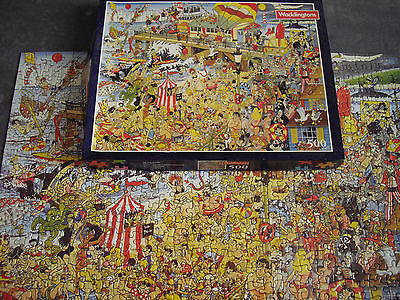 Jigsaw Puzzle The Last Resort Danny Burn 500 Pieces Complete