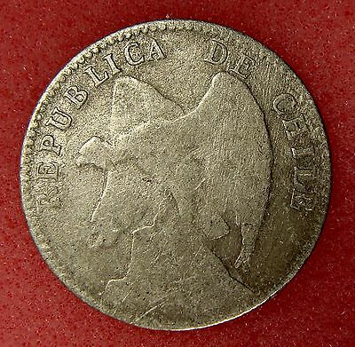 Chile, 20 Centavos 1907, Km# 151.3, Nice Silver Coin, Lot 14
