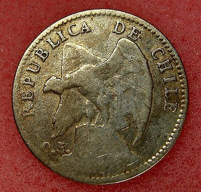 Chile, 20 Centavos 1907, Km# 151.3, Nice Silver Coin, Lot 9