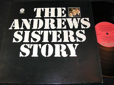 THE ANDREWS SISTERS Story / Dutch LP CAPITOL 5C052.80833