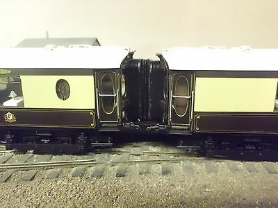 hornby Brighton Belle 5 car set  bellows corridor connectors x4 oo finescale