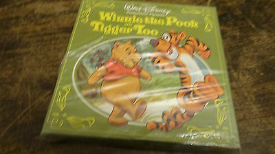 super 8 film WINNIE THE POOH AND TIGGER TOO  still sealed sound color