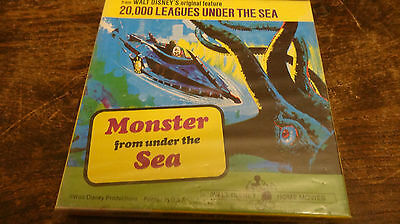 super 8 film MONSTER FROM UNDER THE SEA   still sealed sound color