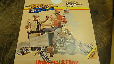 super 8 film SMOKEY AND THE BANDIT  color  sound