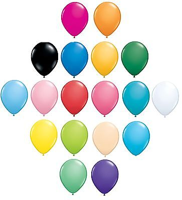 Pack of 6 Qualatex Latex Balloons - PEARLISED Shiny - Birthday Party Decorations