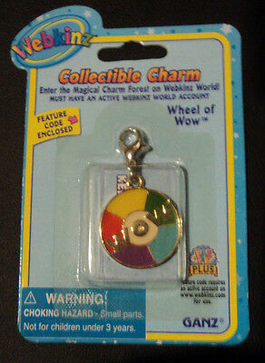 Webkinz Charm Brand New in Package W Sealed Code - WHEEL OF WOW