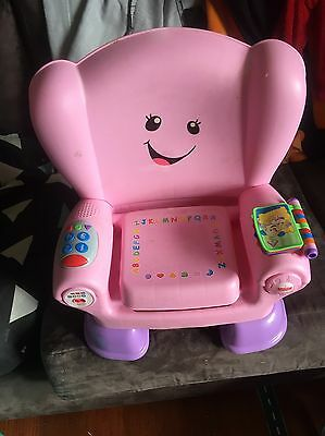 As New Fisher Price Laugh & Learn Smart Stages Chair.