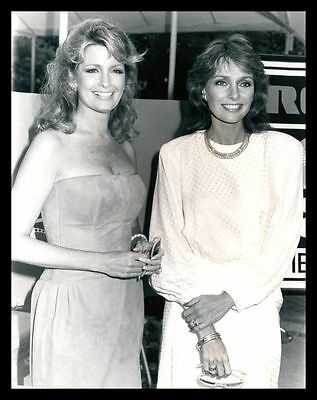 1987 DEIDRE HALL & JENNIFER O'NEILL Vintage Original Photo DAYS OF OUR LIVES gp