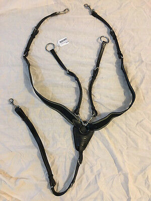 Pestige D40 Pegaso Breastplate Black Full Size - Brand New!!