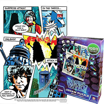 Doctor Who - Comic Retro Jigsaw Puzzle