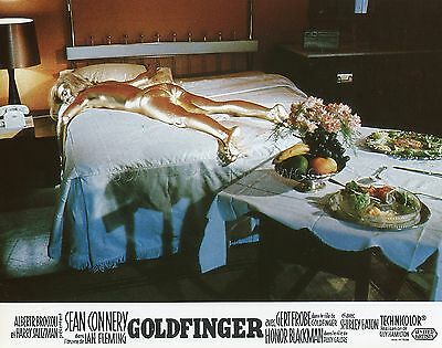 James Bond 007  Sean Connery Goldfinger 1964 Vintage Lobby Card #4  R70
