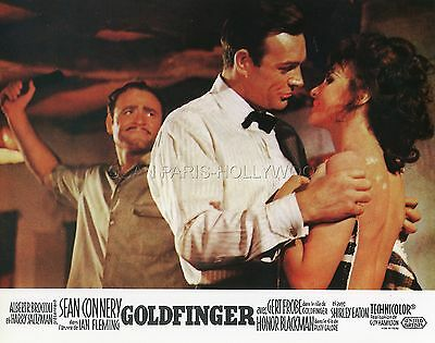 James Bond 007  Sean Connery Goldfinger 1964 Vintage Lobby Card #8 R70