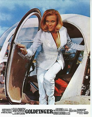 James Bond 007 Honor Blackman Goldfinger 1964 Vintage Lobby Card #7 R70