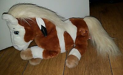 rare spirit stallion of the cimarron rain soft plush toy horse