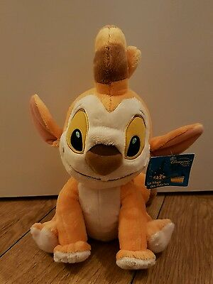 Disney rare dupe soft plush toy with tag lilo & stitch orange alien experiment