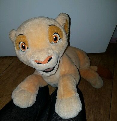 Disney rare kiara large jemini soft plush toy pajama case the lion king used