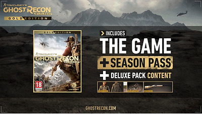 TOM CLANCY'S - GHOST RECON WILDLANDS - GOLD EDITION - PC (Uplay)