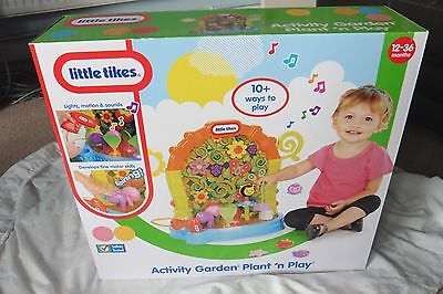 Little Tikes Plant-n-Play Garden Activity, BRAND NEW, AGES 9 MONTHS PLUS