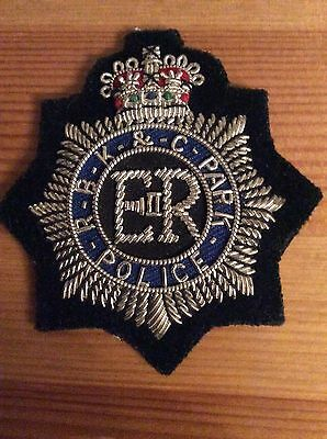 police cap badge - Royal Borough of Kensington and Chelsea Park Police.