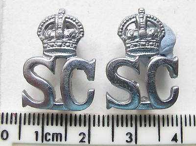 Special Constabulary collar badges KC