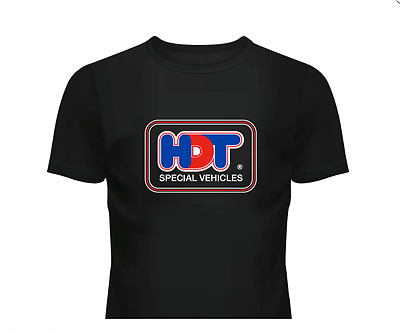 HDT t-shirt - HDT Special Vehicles tshirt - Peter Brock Holden commodore tee