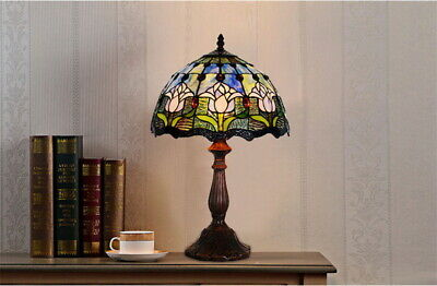 Baroque Style Museum Quality classical floral Tiffany bedside Lamp*Limited stock