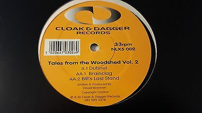 Tales From The Woodshed Vol 2 12 Inch Vinyl 1995 Cloak & Dagger Records Hip Hop