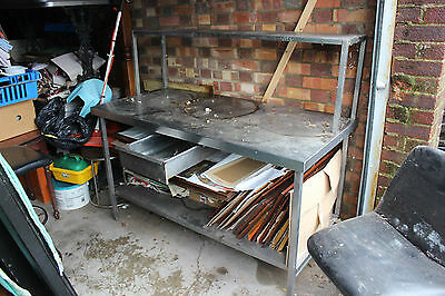 Stainless Steel Table Kitchen Work Top With Shelf 4