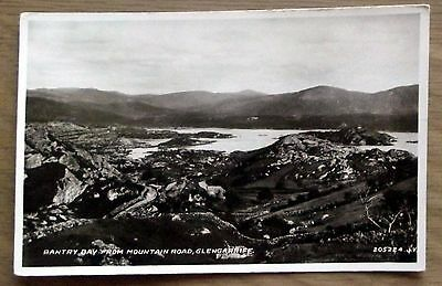 Real Photo Vintage postcard - Bantry Bay from Mountain Rd Glengariff