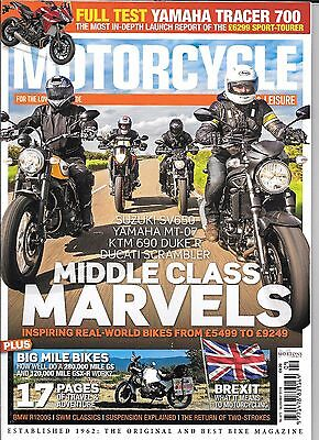 MOTORCYCLE SPORT & LEISURE English Monthly Magazine - September 2016 No 672