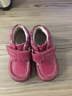 Baby Girl Clarks Shoes 4.5
