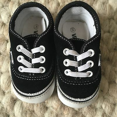 Vans Baby Shoes Size 3-6 Months