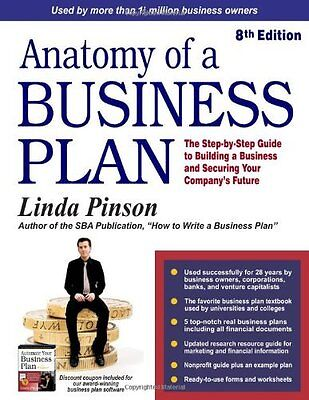 Anatomy of a Business Plan by Pinson  Linda Paperback New  Book