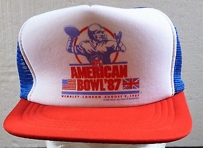 NFL American Football Bowl Wembley Stadium 1987 Cap