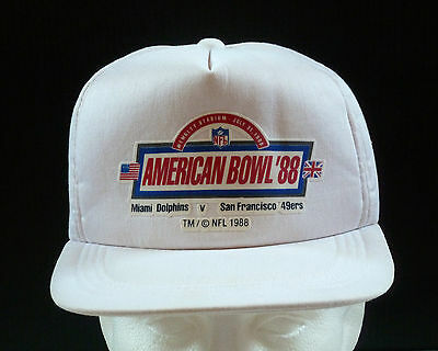 NFL American Football Bowl Wembley Stadium 1988 Cap