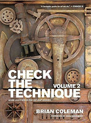 Check the Technique by Brian Coleman New Paperback Book