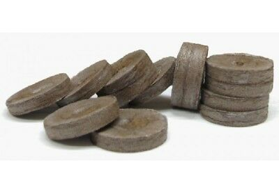 Pack 40 Doff CoCo Coir Plug Pellets For Growing Plug Plants