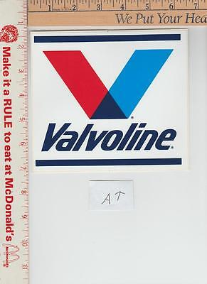 1 Nos Valvoline DECAL 6-1/2 x 5-3/4 inches