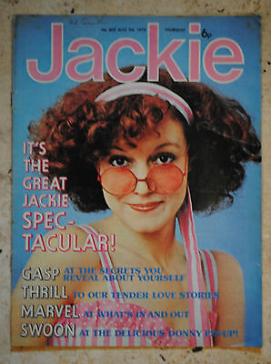 JACKIE MAGAZINE Aug 9th 1975 DONNY OSMAND..40years.GOSSIP.FASHION.PROBLEMS.POP