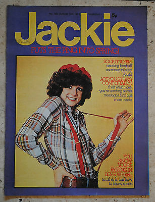 JACKIE MAGAZINE March 15 1975 FACES 40years.GOSSIP.FASHION.PROBLEMS.POP