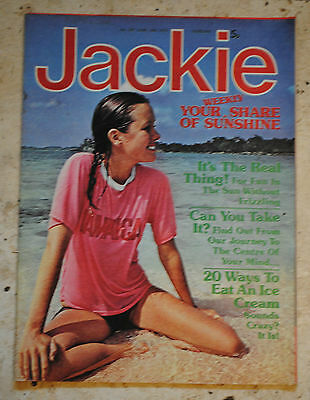 JACKIE MAGAZINE June 14 1975 10CC..40years.GOSSIP.FASHION.PROBLEMS.POP